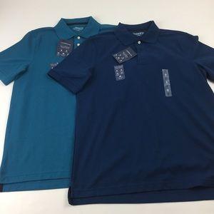 2 Croft & Barrow Polo Shirts.  I9